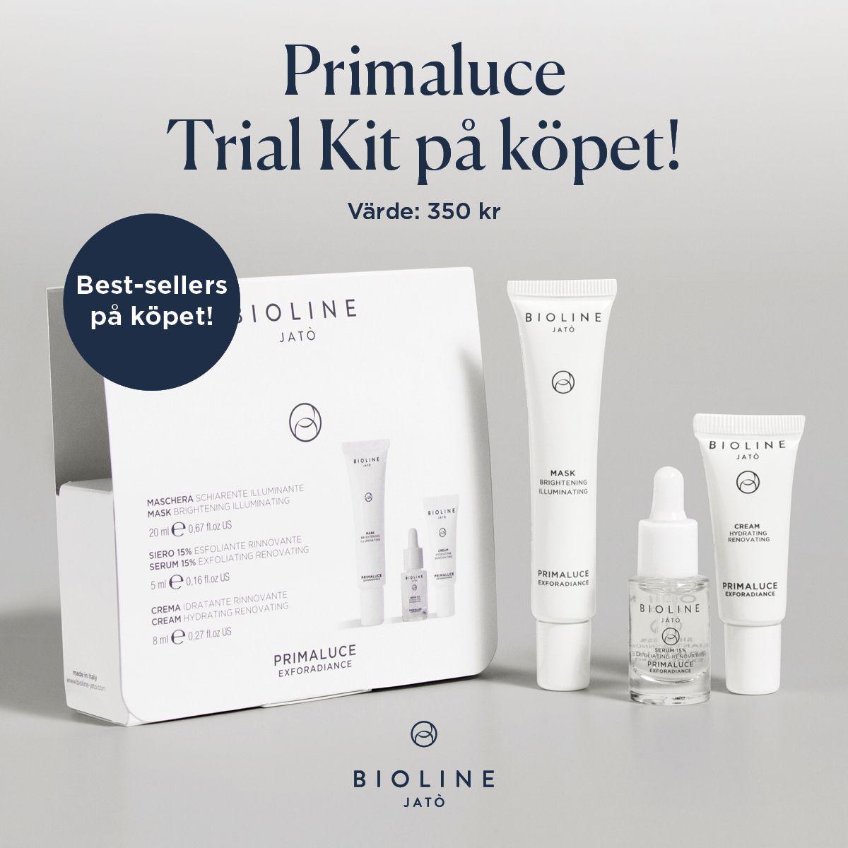 Bioline Primaluce Trial Kit på köpet