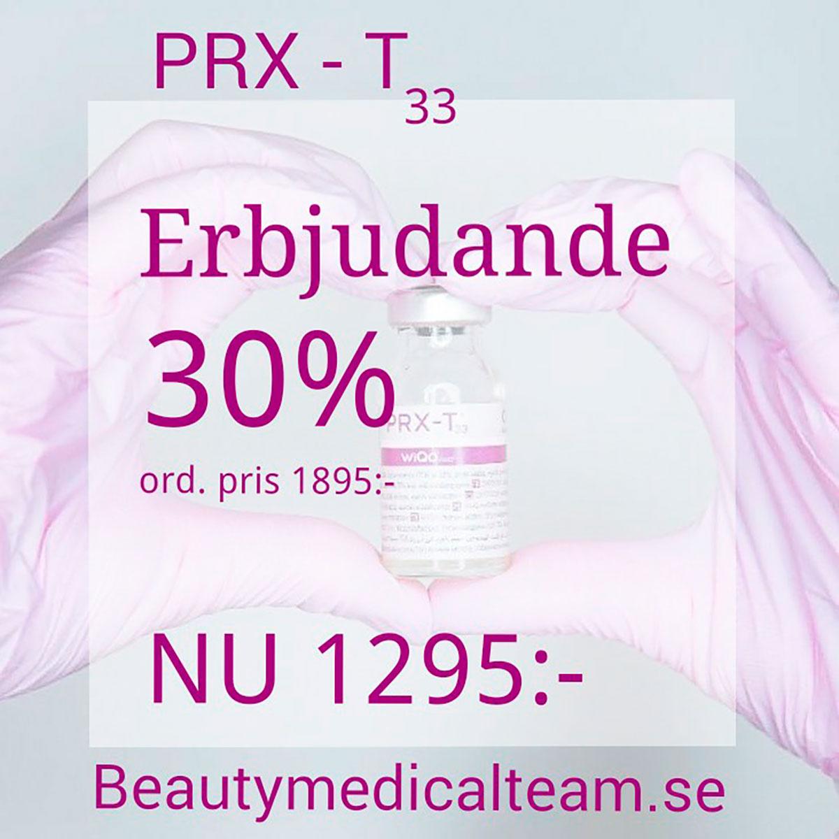 PRX-T33 Erbjudan de 30 procent