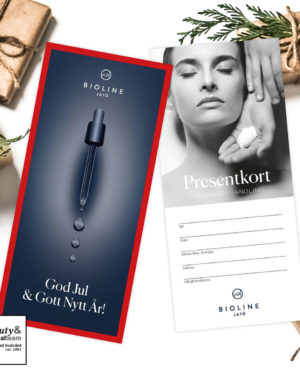 Presentkort från Beauty and Medical team – God jul & Gott nytt år