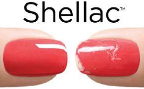 shellac permanent lackning